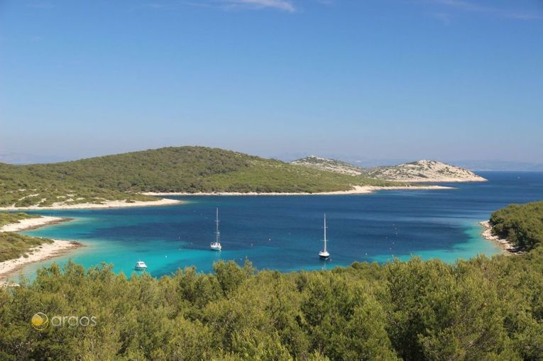 Traumhaftes Segelrevier Kroatien
