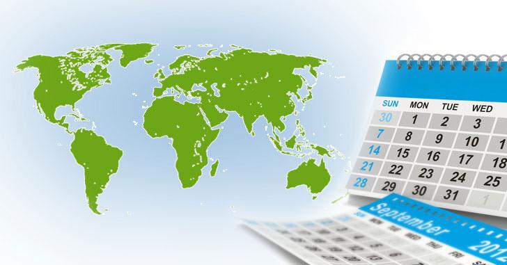 Kalender für Charteranfrage