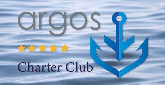 VIP Karte von ARGOS © Argos Yachtcharter