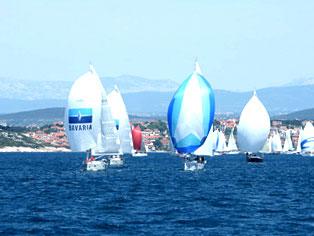 Gruppe von Bavaria-Yachten © Bavaria Yachts