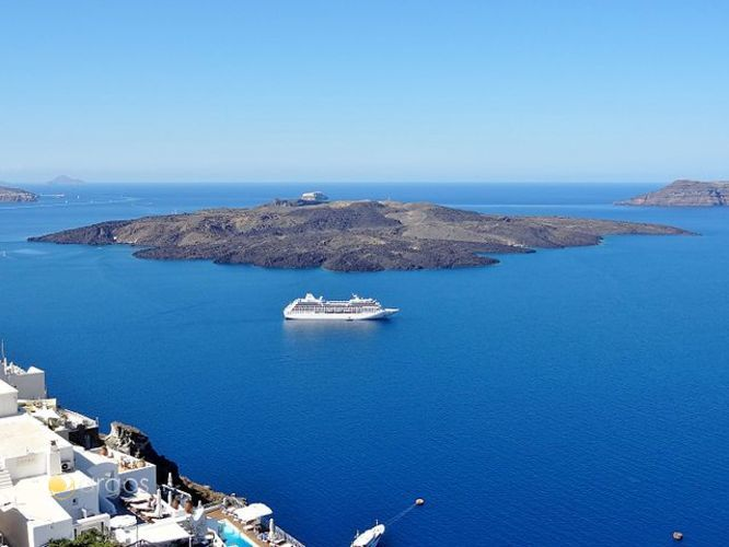 Insel Santorin