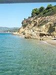 Achilleion und Hafenort Achilleion (Ormos Pteleou)