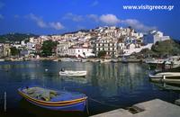 Hafen Loutraki (Insel Skopelos)
