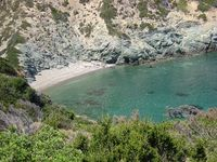 Bucht Panagia (Insel Pelagos) - Südbucht (Insel Peristera)