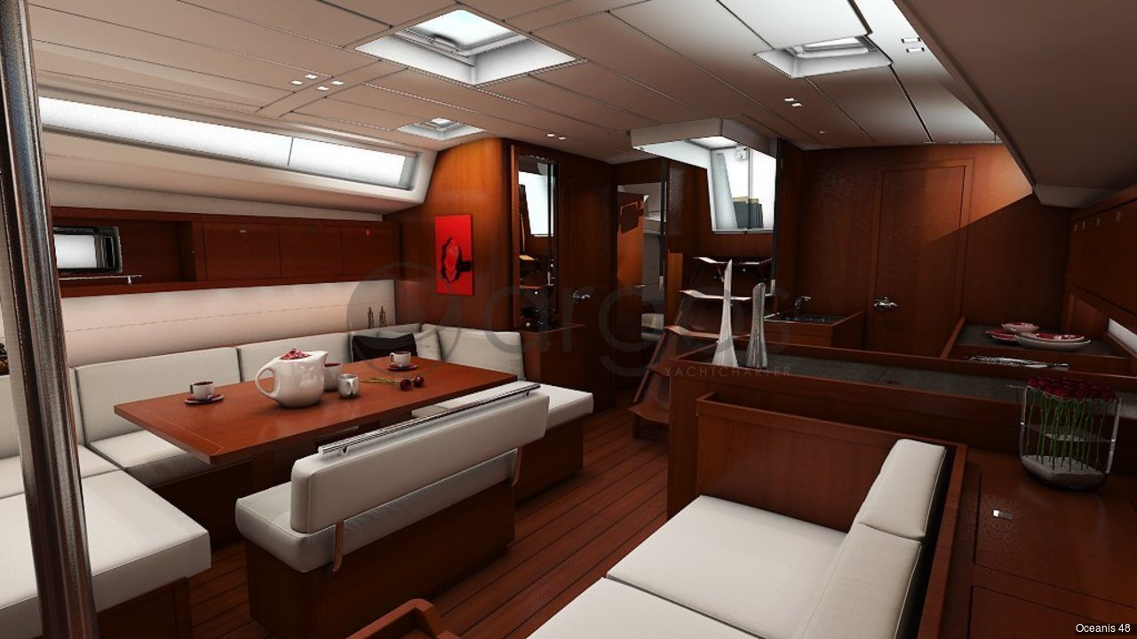 oceanis 48 4 kabinen 4 wc segelyacht id 3275 argos yachtcharter segeln aus leidenschaft. Black Bedroom Furniture Sets. Home Design Ideas