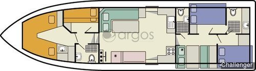challenger 4 kabinen 3 wc hausboot id 2361 argos yachtcharter