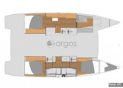 1 Elba 45  Verfügbar in Kroatien, US Virgin Islands und Spanish Virgin Islands.