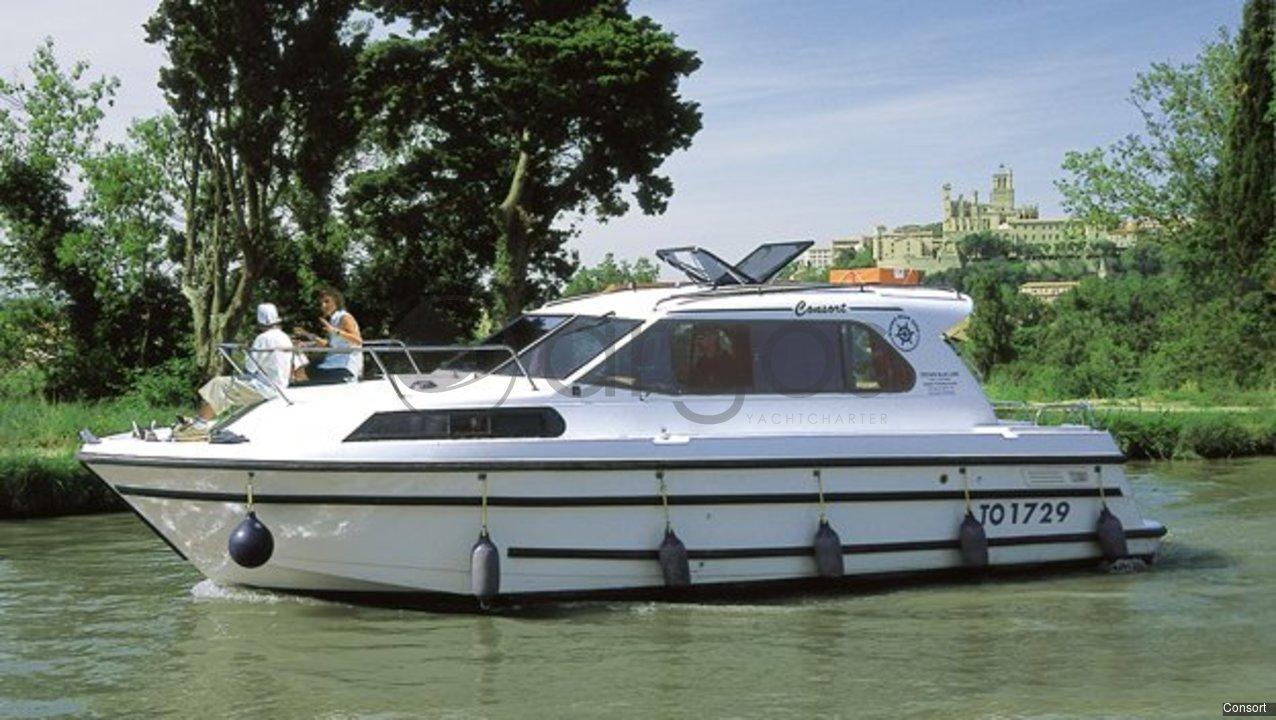 consort 1 kabinen 1 wc hausboot id 2503 argos yachtcharter. Black Bedroom Furniture Sets. Home Design Ideas