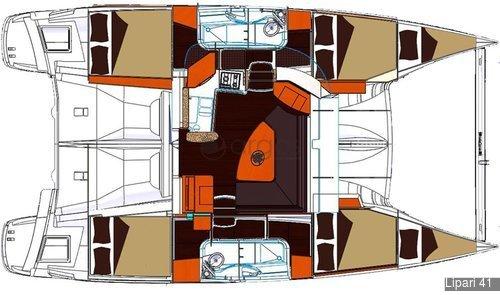 1 Lipari 41  Verfügbar in Italien, Lee & Windward Islands und Thailand.